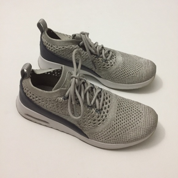 2a8bab1372 Nike Air Max Thea Ultra Flyknit silver grey 8.5. M_5b480804baebf6d50e84a28b